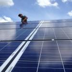 REC solar modules