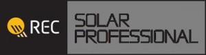 REC solar professional logo