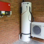 Sanden heat pump hot water and solar inverter