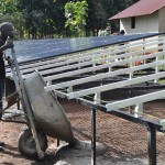 Solar panel frame - South Sudan