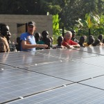 Solar system training in South Sudan