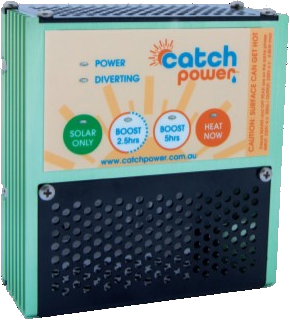 Hot Water Diversion: CATCH Power - Mode Electrical on