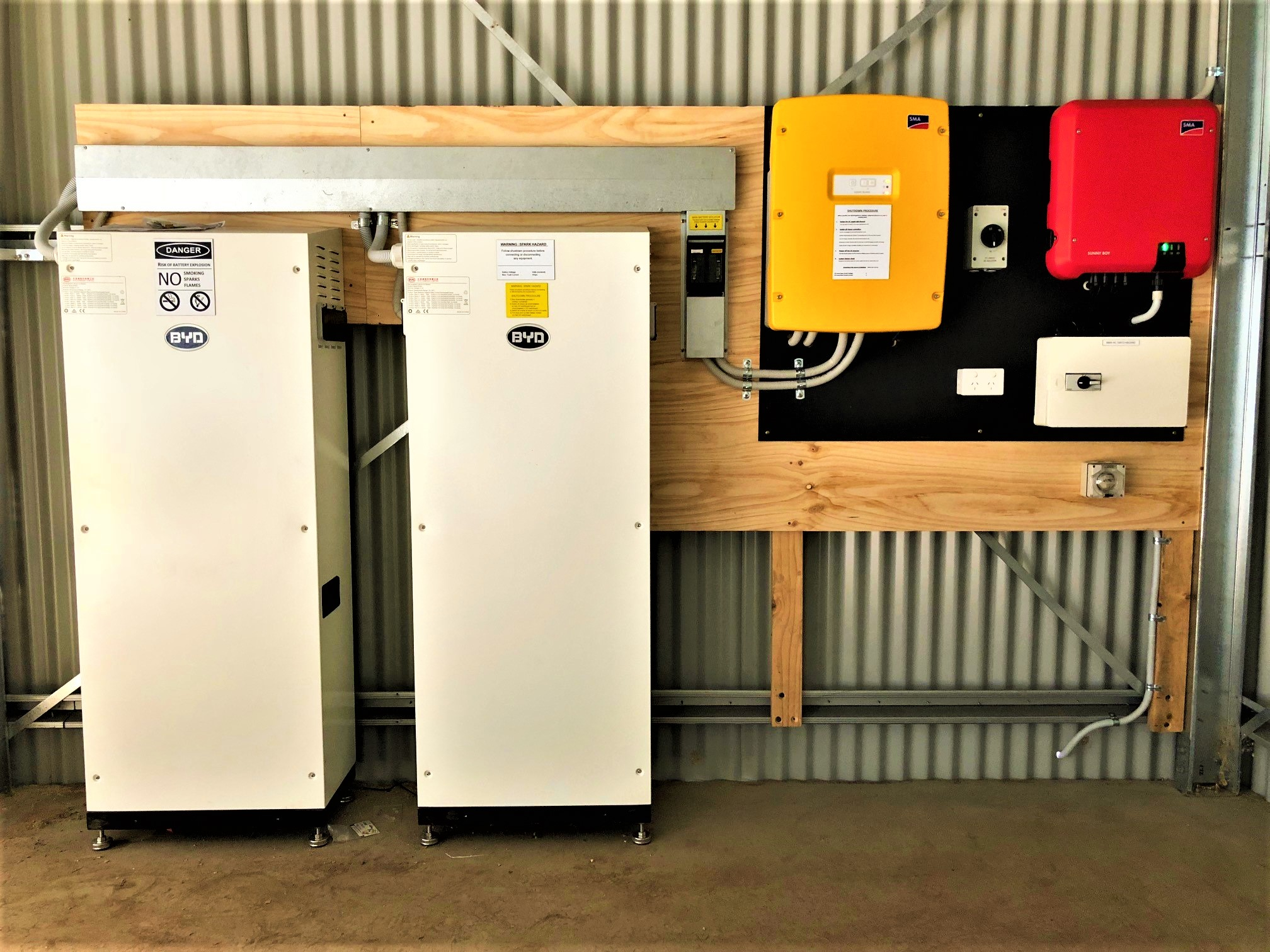 Offgrid Lithium Ion System