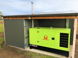 Pramac fully bunted Generator